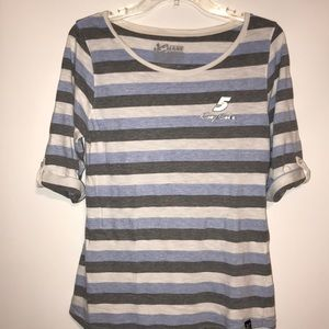 Chase women top authentic size large color blue w